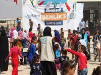 Savaş mağduru çocukların yüzü 'Sınırsız Şenlik' ile güldü
