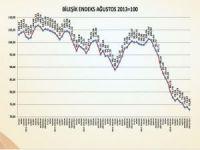 Ağustos ayında faaliyetlerde yaşanan düşüş Bileşik Endeks'e olumsuz yansıdı