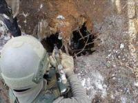 Van'da PKK'ya ait sığınaklar imha edildi