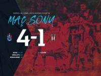 Trabzon Kartal'ı 4'ledi: 4-1