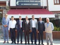 HÜDA PAR Ankara teşkilatından Uluslararası İnsan Hakları Derneğine ziyaret