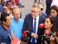 Avrupa Konseyi evlat nöbeti tutan aileleri ziyaret etti