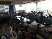 Nusaybin'de basın mensupları PKK/YPG'nin hedefi oldu