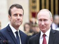 Macron'dan Putin'e 'Suriye'de ateşkes uzatılsın' çağrısı