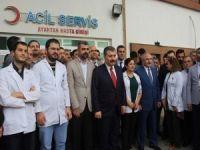 Sağlık Bakanı Koca Nusaybin'de