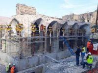 Er-Rızk Camii'nin taşınması işlemleri sürüyor
