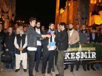 Keşmir işgali 72'inci yılında İstanbul'da protesto edildi