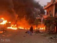 Afrin'de bombalı araçla saldırı: 8 ölü 14 yaralı