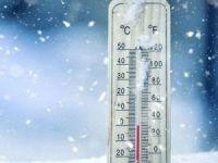 Kars buz kesti: Termometreler eksi 15'i gösterdi