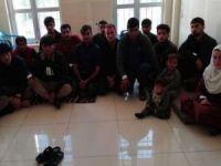Gaziantep'te 6 düzensiz göçmen yakalandı