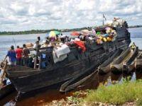 Kongo'da tekne alabora oldu: 11 kişi kayıp