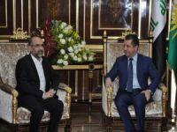 İshak Sağlam Mesrur Barzani ile görüştü