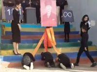 Atatürk posteri önünde secde ettirilmesine soruşturma