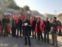 Hak sahibi olamayan Hasankeyflilerden basın açıklaması
