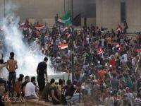 Bağdat'taki gösterilerde 7 kişi hayatını kaybetti