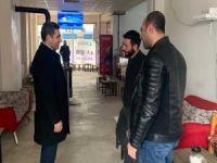 Bingöl Belediye başkanı Arıkan'dan esnaf ziyaretleri