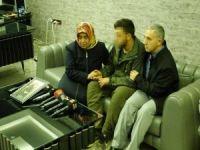 Hatice anne, PKK'dan kurtulan oğluyla görüştü