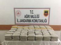 Ağrı'da 74 kilo eroin ele geçirildi