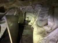 Pençe harekatlarında sığınaklar tespit edildi