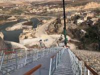 Hasankeyf'te yüzer liman montajı tamamlandı