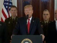 Trump İran'nın Irak'taki ABD üslerine yönelik saldırısına ilişkin açıklama yaptı