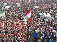 """Lübnan'da """"Öfke Haftası""""nda halk tekrar sokaklara indi"""