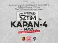 Batman'da KAPAN - 4 MAVA Operasyonu başlatıldı