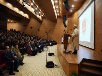 Erbaş, Milli Savunma Üniversitesi'nde 'din istismarı'nı anlattı