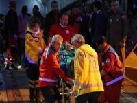 Somali'de bombalı saldırıda yaralananlar Türkiye'ye getirildi