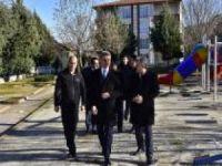 Malatya Valisi Baruş, yatırımları inceledi
