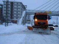 961 yerleşim birimi yoğun kar nedeniyle ulaşıma kapandı