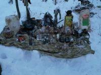 Bitlis'te PKK'ya ait 15 sığınak ve 6 depo imha edildi