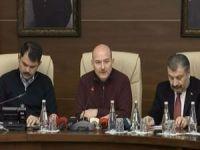 3 bakan Elazığ depremiyle ilgili bilgilendirme toplantısı düzenledi