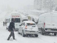 Meteorolojiden kar yağışı ve çığ uyarısı