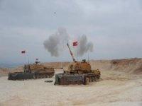 TSK, Tel Rıfat bölgesinde PKK/YPG hedeflerini ateş altına aldı