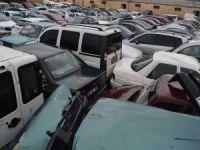 Siirt'te çalınan 32 araç Batman'da ele geçirildi