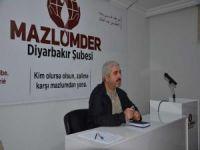 """MAZLUM-DER: """"Gezi Olayları masum bir eylem değildi"""""""