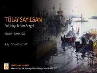 Tülay Sayılgan Suluboya Resim Sergisi Venüs Sanat Galerisi'nde…
