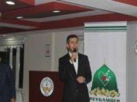 """İDEV Adıyaman'da """"Ahlak ve Maneviyat"""" konulu seminer düzenledi"""
