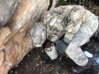 """""""Kapan-7 Garisa Operasyonu""""nda tespit edilen barınak ve sığınaklar imha edildi"""