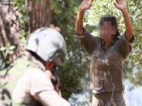 Kırmızı bültenle aranan PKK'lı teslim oldu