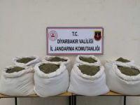 Diyarbakır'da 322 kilogram esrar ele geçirildi