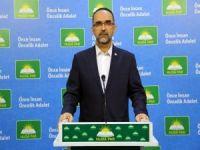 HÜDA PAR Genel Başkanı Sağlam'dan ihanet anlaşmasına karşı Filistin halkına birlik çağrısı