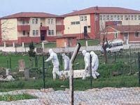 Şanlıurfa'da Covıd-19'dan vefat eden kişi toprağa verildi