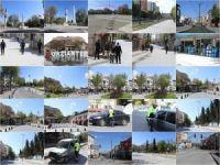 Gaziantep sokağa çıkma yasağının ardından sessizliğe büründü