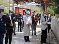 Covid-19 nedeniyle vefat eden Mehmet Görmez'in annesi dualarla defnedildi