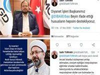 AGD'den Diyanet İşleri Başkanı Erbaş'a destek açıklaması