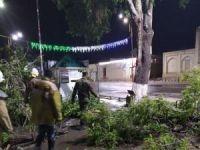 Şiddetli rüzgarlar Özbekistan'da can aldı