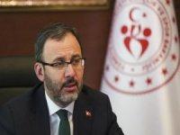 Gençlik ve Spor Bakanı Kasapoğlu'na Covid-19 tanısı kondu