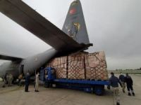 Türkiye'nin Filistin için hazırladığı tıbbi malzemeler uçakla gönderildi
